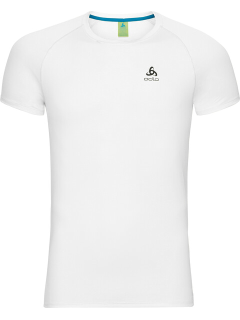 Odlo Active F-Dry Light Crew Neck SS Shirt Men white